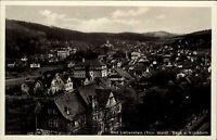 Bad Liebenstein Thüringer Wald alte Thüringen AK ~1940 Blick vom Klinik Turm