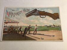 The Parker Gun Trade Card/ Price List Of Hammer/ Hammerless Guns Parker Bros