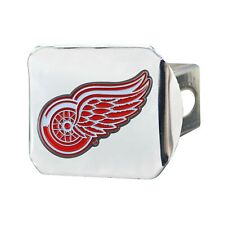 Fanmats NHL Detroit Red Wings 3D Color on Chrome Metal Hitch Cover Del. 2-4 Days