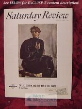 SATURDAY REVIEW March 30 1968 MAXIM GORKY JAN MAGUIRE CLARENCE H. FAUST