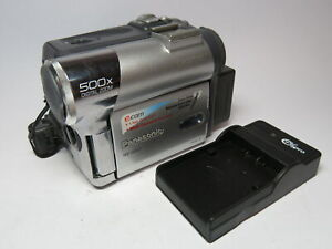 Panasonic NV-GS22 Mini DV PAL Compact DV Firewire Camcorder *READ Description*