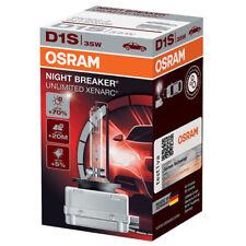 Osram XENARC Night Breaker ilimitado D1S +70% Bombilla Luz Xenon HID Coche (SINGLE)