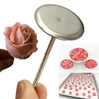 2 x Cake Stand Nails for Piping Icing Flower Sugar Decoration Ice Cream Cupcake