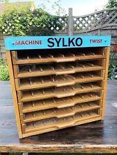 Vintage Haberdashery Drawer Cabinet Sylko