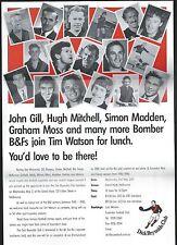 Essendon Bombers  Ephemera   Dick Reynolds Club meet