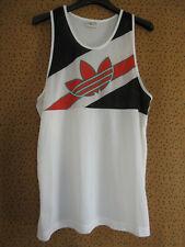 Debardeur Adidas 90'S Athlétisme Trefoil running vintage T shirt - 2 x 3 / M