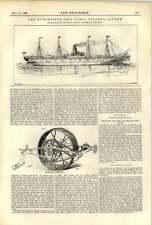 1893 Milwaukee Harvester Manchester Steamer Sachem Hms Hood Reckenzaun