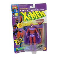 Uncanny X-Men Magneto Super Spark Action 1992 Toy Biz Evil Mutants Marvel Vtg