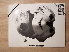Undercover SWTS0300 - Star Wars Teens Storm Trooper Gummizugmappe, A4