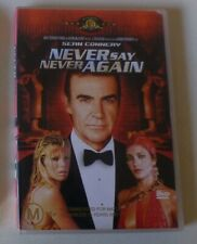 NEVER SAY NEVER AGAIN dvd REGION 4 sean connery RARE OOP james bond 007