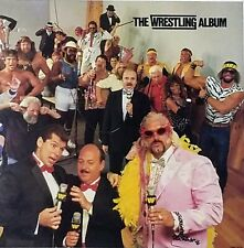 The Wrestling Album' Poster Flat Suitable For Framing Promo item from 1985 Mint