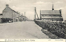 Ripley. St John's Church, Derby Road # 44661 by Valentine's.