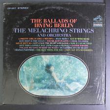 MELACHRINO STRINGS: The Ballads Of Irving Berlin LP (shrink) Easy Listening
