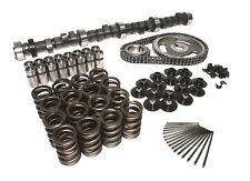 Chevy 327 350 Ultimate Cam Kit 232/232 at 050 375hp springs lifters push rods+CB