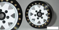 """SSD 1.9"""" Steel 8 Spoke Beadlock Wheels WHITE SSD00251 TRX-4 wheel TRX4 Traxxas"""