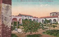 DB Postcard ca1915s A376 Mission San Juan Capistrano Founded 1776 Calif Garden