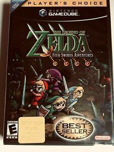 Legend of Zelda: Four Swords Adventures (Nintendo GameCube)NEW FACTORY/seal Mint