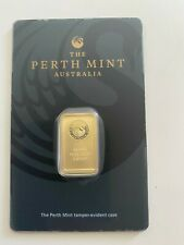 "5 Gramm Goldbarren ""The Perth Mint"" 99,99im Original Zertifikat Blister."