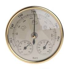 3in1 130mm Wall Mounted Barometer Hygrometer Thermometer Weather Station Hanging