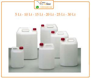 Tanica taniche bidone in plastica per alimenti acqua olio vino fusto contenitore