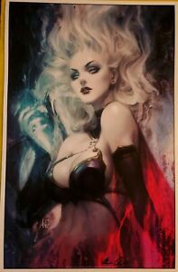Lady Death Nightmare Symphony print by Artgerm signed by Pulido w/coa