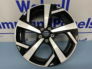 Nissan Qashqai 19'' BLACK DIAMOND CUT Alloy Wheel Genuine N88901