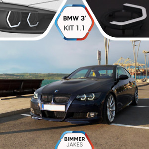 BMW 3 E92 Coupe E93 Cabrio BJ ICONIC LIGHTS KiT 1.1 LED ring Angel Eyes Halo