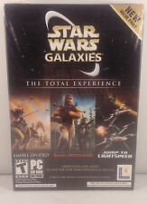 STAR WARS GALAXIES-THE TOTAL EXPERIENCE! All 3 videogames!  Rage of the Wookies!
