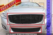 GTG 2011 - 2013 VOLVO C70 2pc BLACK UPPER REPLACEMENT & BUMPER BILLET GRILLE KIT