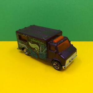 Vintage Mattel Hotwheels Speedy Graffiti Van w/ Opening Doors Diecast Car 1980s