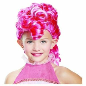 my little Pony Pinkie Pie Kinder Mädchen Fasching Halloween Karneval Perücke Wig