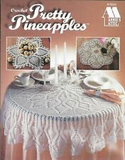 New listing New Pretty Pineapples Doilies Table Topper 7 Designs Crochet Pattern Book