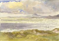 Austin Blomfield - Mid 20th Century Watercolour, Coastal Landscape