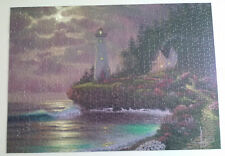 "RoseArt Al Hogue 1000 pc Jigsaw ""Returning Home"" Lighthouse - Complete"
