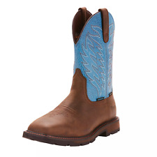 Ariat 10024999 Men Groundbreaker Wide Square Toe H2O Safety Steel Toe Work Boots