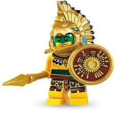 LEGO #8831 Mini figure Series 7  AZTEC WARRIOR