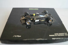 Modellauto 1:43 Lotus Renault 97T Winner GP Portugal 1985 Ayrton Senna Formel 1