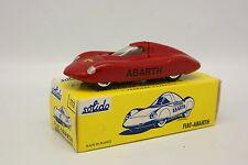 Solido 1/43 - Fiat Abarth (réédition)