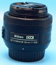 Nikon Nikkor AF-S DX 35 mm F/1.8G Lens (JAA132DA) Exc+++++++W/Caps