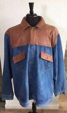 NWOT Ecko Unltd 1972 Leather Jean Jacket 3XL Leather Collection   A123