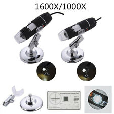 1600X/1000X 8 LED USB2.0 Zoom Microscope Hand Held Biological Endoscope HOT