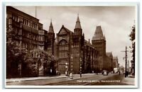 Postcard The University Manchester real photo