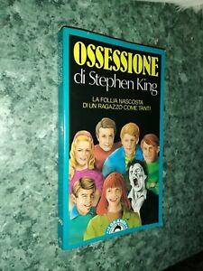 Libro Stephen King OSSESSIONE prima edizione i grandi tascabili Bompiani 1990