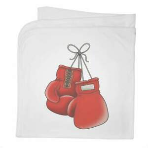 'Boxing Gloves' Cotton Baby Blanket / Shawl (BY00010779)