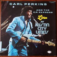Carl Perkins PSA DNA  Coa Hand Signed Live Album W/Vinyl Autograph