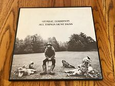 GEORGE HARRISON ORIGINAL FIRST PRESS ALL THINGS MUST PASS 3-LP BOX SET ~ APPLE