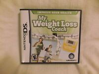 My Weight Loss Coach  (Nintendo DS, 2008) Case, Game, & Instructions. No Ped.