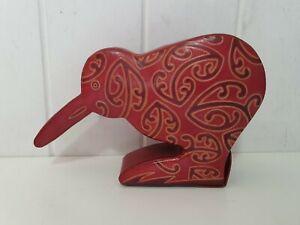Genuine Leather New Zealand Kiwi Money Box by 'Kati'