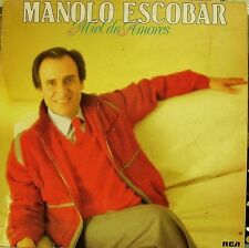 MANOLO ESCOBAR-MIEL DE AMORES LP VINILO 1985 SPAIN REGULAR COVER CONDITION-