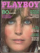 PLAYBOY August 1980-Bo Derek in the Buff Pictorial, Girls of Hawaii,Dr. Shockley